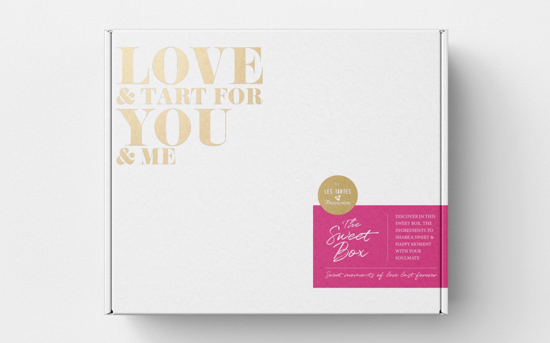 La sweet box de Saint-Valentin