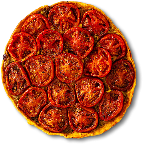 tomate confite kefta